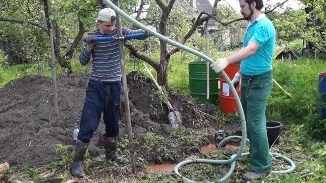 Гидробурение скважины своими руками: особенности и преимущества метода, пошаговая инструкция работ