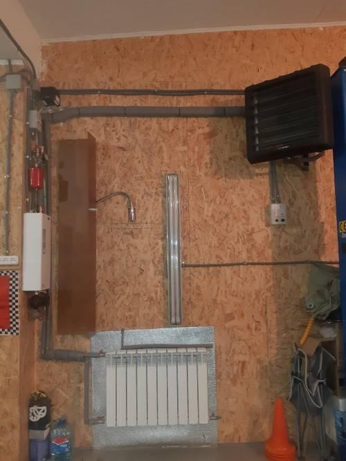 Отопление гаража зимой своими руками: как сделать автономный самодельный обогреватель