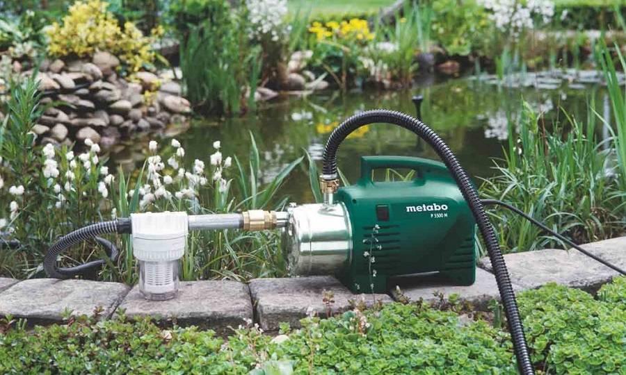 Поверхностный насос для полива огорода: выбираем для себя