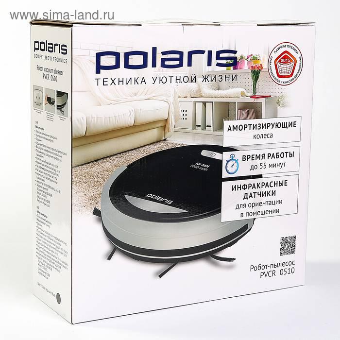 Обзор робота пылесоса Polaris 0510: дешевле некуда