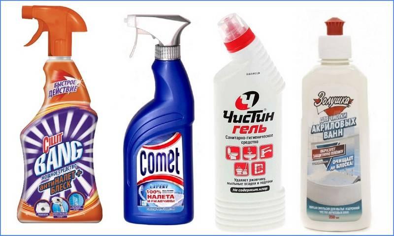 5 средств, с которыми чистка акриловых ванн проходит на раз два. личный опыт!