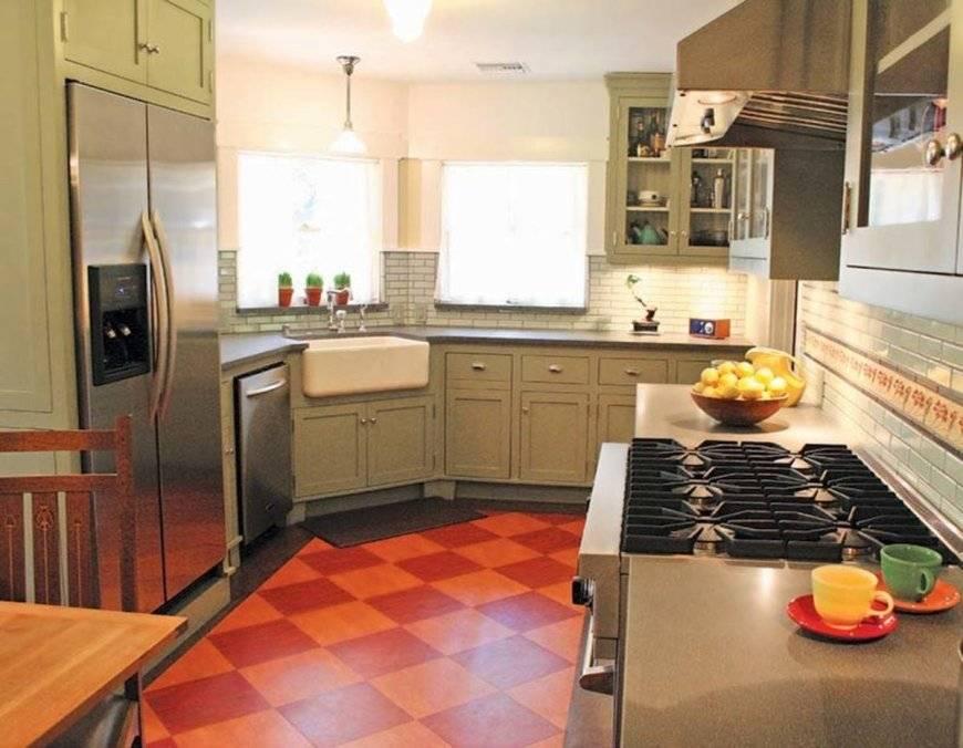 Пол познается в сравнении: выбираем напольное покрытие для кухни