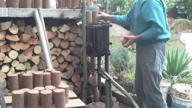 Экономные топливные брикеты своими руками