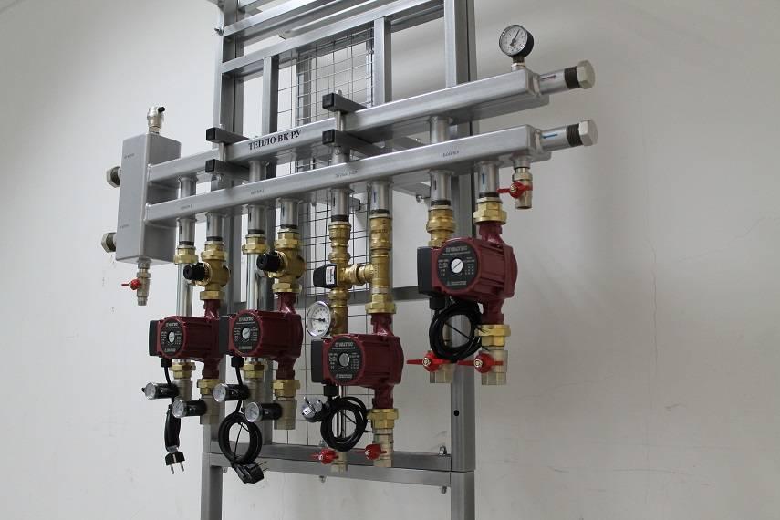 Распределительная гребенка системы отопления - назначение и принцип работы