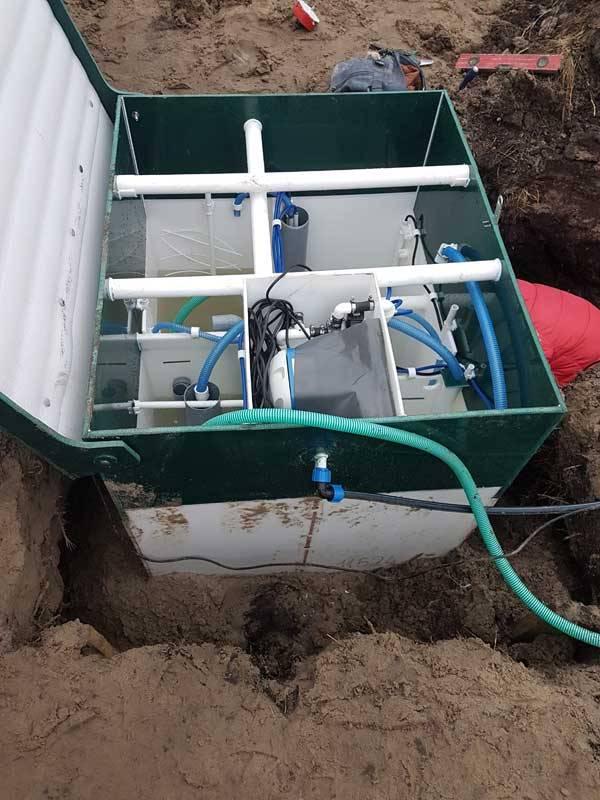Септики для дачи с высоким уровнем грунтовых вод - выбор и строительство своими руками!