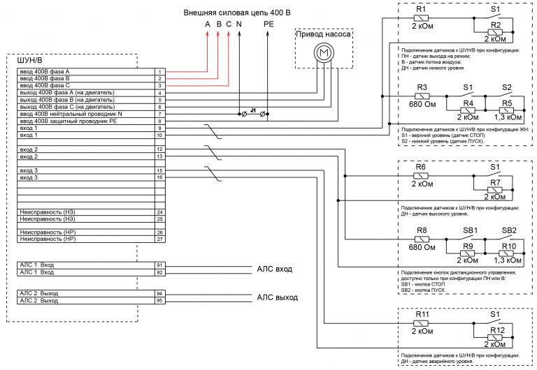 Шкаф управления насосами: виды, назначение, схемы подключения   отделка в доме