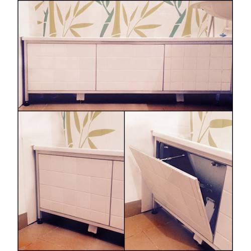Самодельный экран в ванную комнату: пошаговая инструкция по изготовлению своими руками