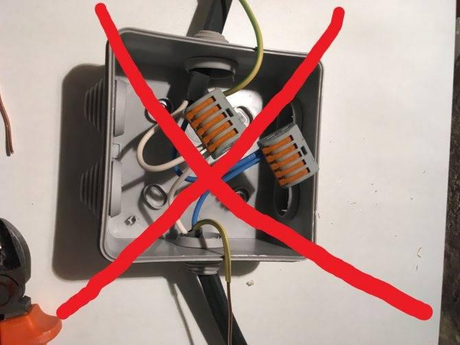 Способы безопасного соединения медных и алюминиевых проводов в коробке квартиры: как делать нельзя, можно ли через клеммник