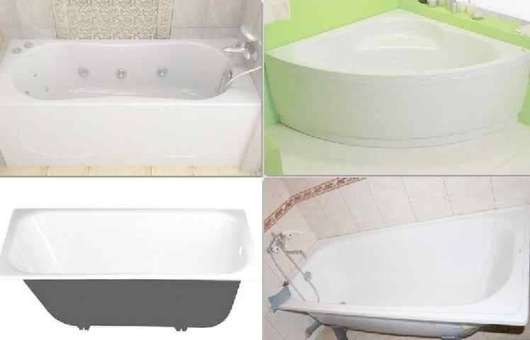 Что лучше купить — акриловую или чугунную ванну?