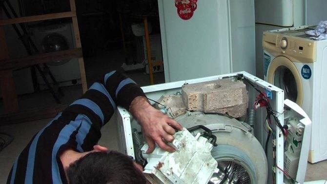 Как снять подшипник с барабана стиральной машины занусси: инструкция