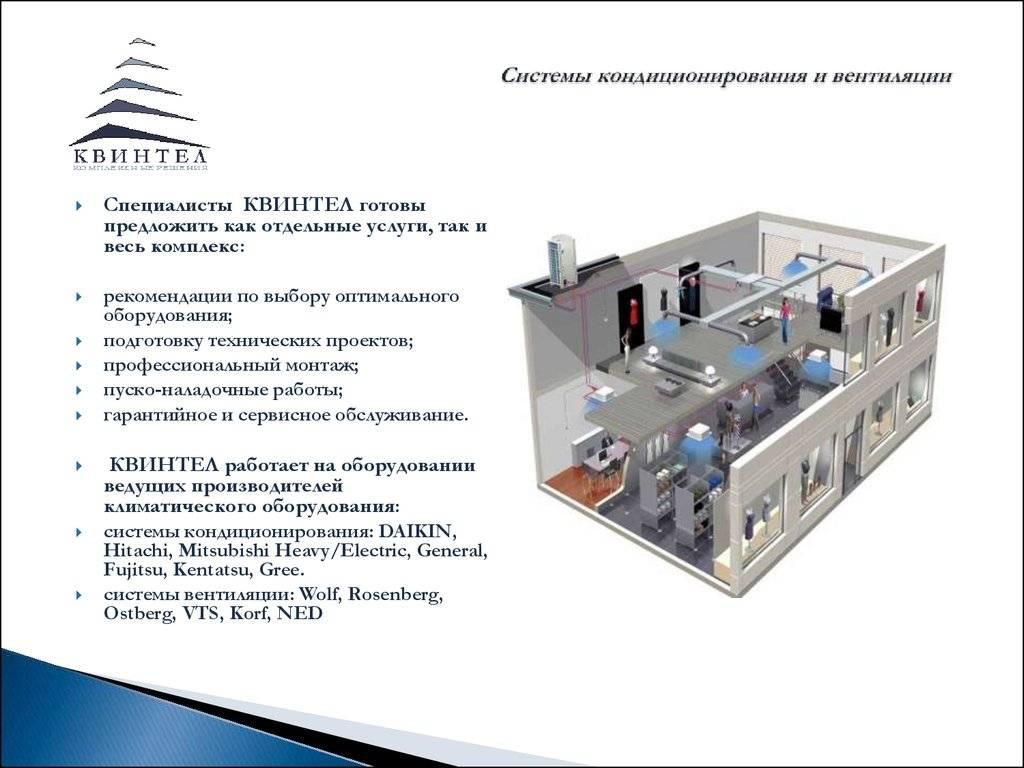 Обзор систем вентиляции и кондиционирования воздуха: разновидности, особенности проектирования систем и монтажа воздуховодов