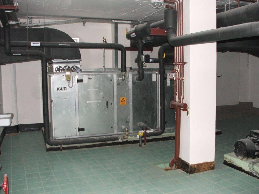 Пожарная безопасность систем вентиляции