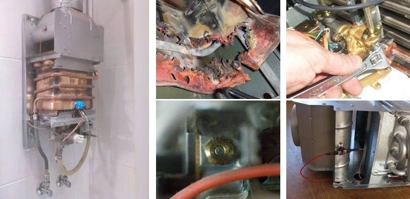 Почему тухнет и выключается газовая колонка: причины и ремонт