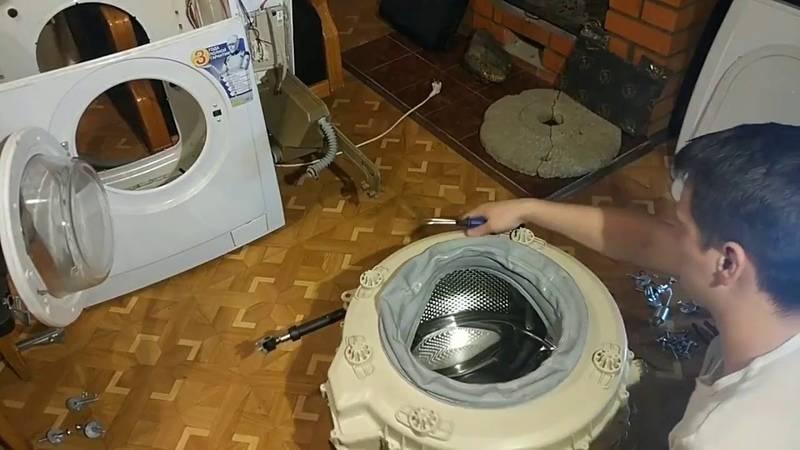 ⚙ замена подшипника в стиральной машине: пошаговая инструкция