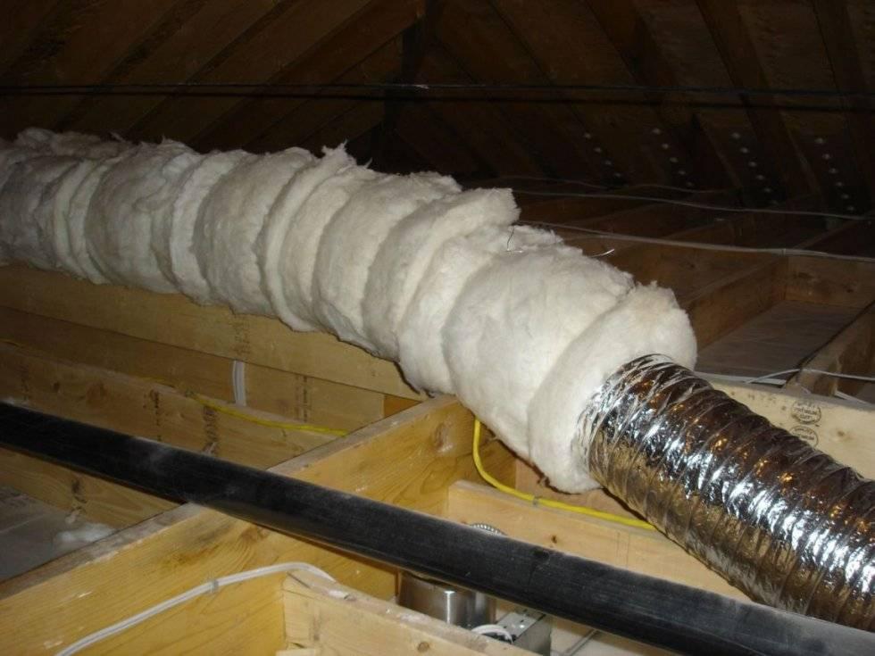 Технология теплоизоляции печных дымоходов своими руками