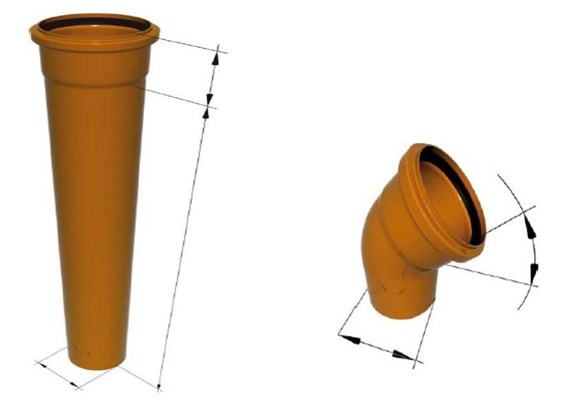 Монтаж канализационных труб своими руками - варианты и способы