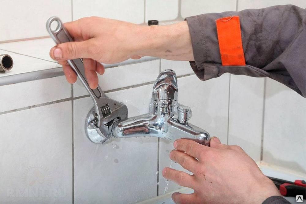 Как разобрать кран в ванной: пошаговая инструкция