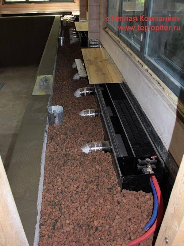 Как правильно установить газовый конвектор если стены деревянные