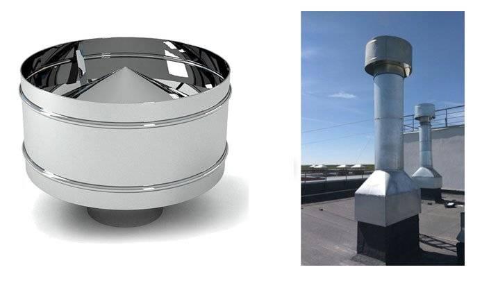 Дефлектор – защитный колпак на вентиляционную трубу