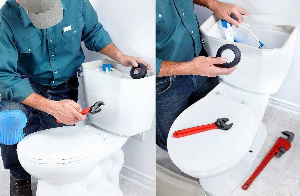 Что делать, если протекает бачок на унитазе при сливе воды: как устранить течь