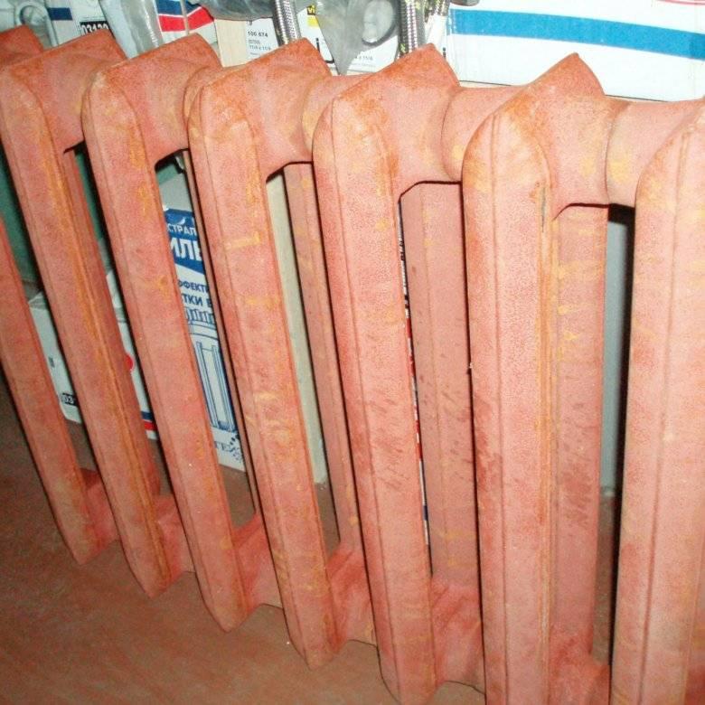Вес секции чугунного радиатора мс 140