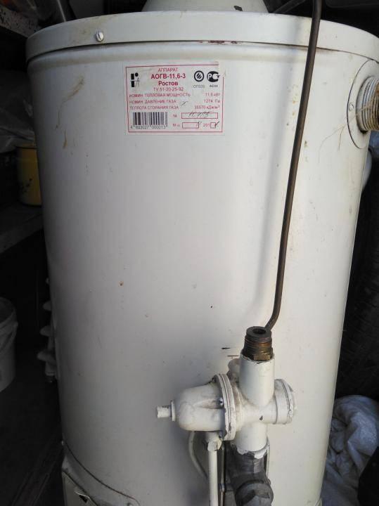 Замена термопары газового котла аогв-11,6. инструкция.