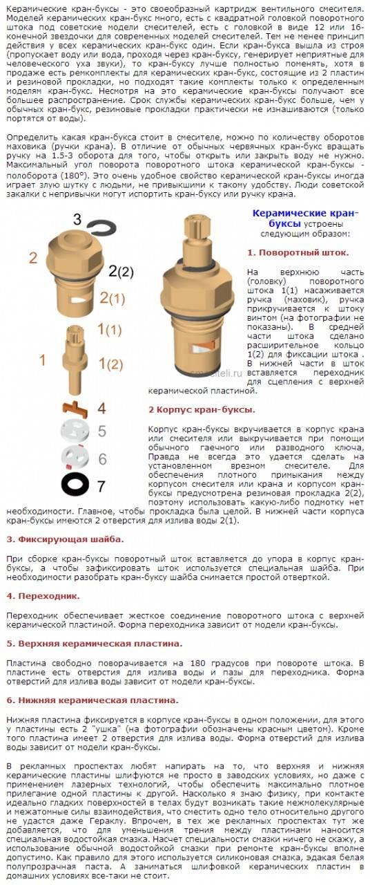 Как поменять кран-буксу в смесителе в ванной своими руками: порядок работ