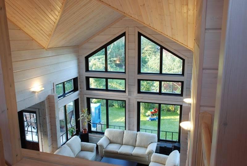 Дизайн гостиной в загородном доме: планировки, идеи интерьеров, фото вариантов