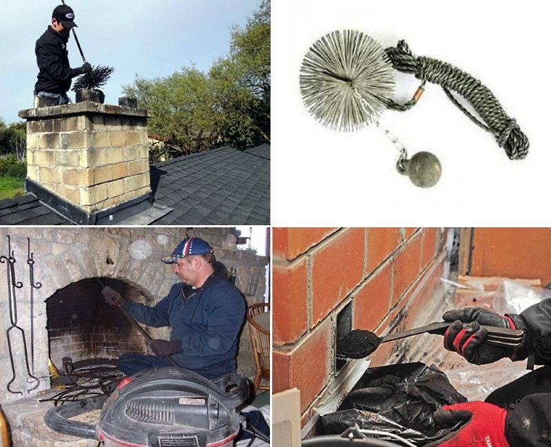 Как и чем почистить дымоход: признаки засора, частота чистки, плюсы и минусы механической и химической очистки, полезные лайфхаки