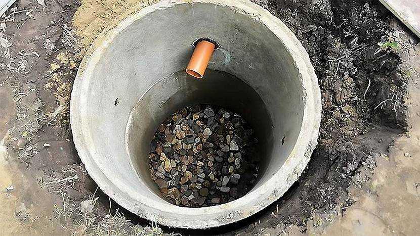 Можно ли использовать полимерпесчаные кольца для стоительства выгребной ямы: разбираем внимательно