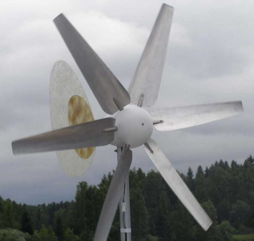 Ветрогенератор своими руками из автомобильного генератора. видео и чертежи