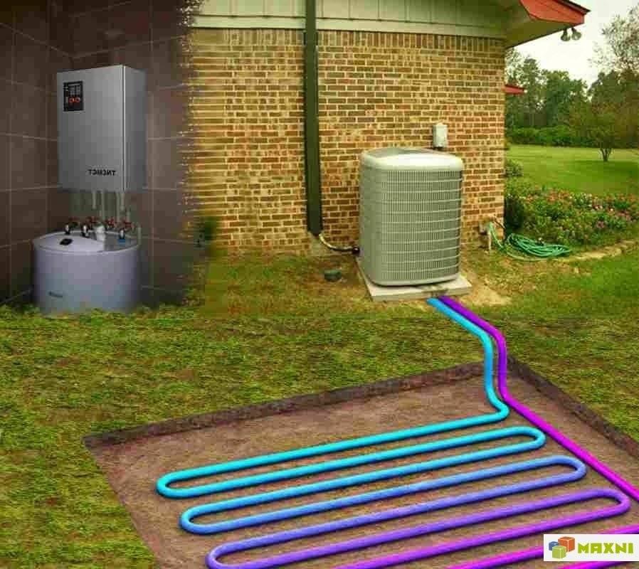 Тепловой насос для отопления дома – принцип работы, виды и монтаж