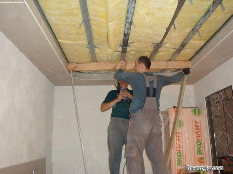 Подробная инструкция по шумоизоляция потолка в квартире