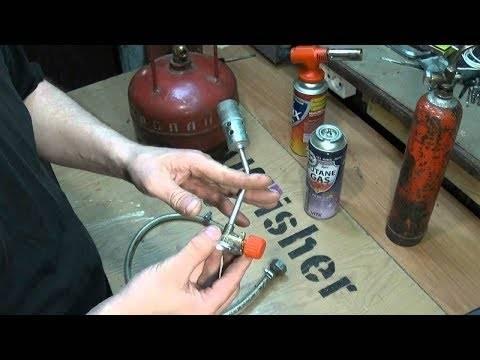 Газовые баллоны для горелок: как выбрать топливо для горелок?   заброска.рф