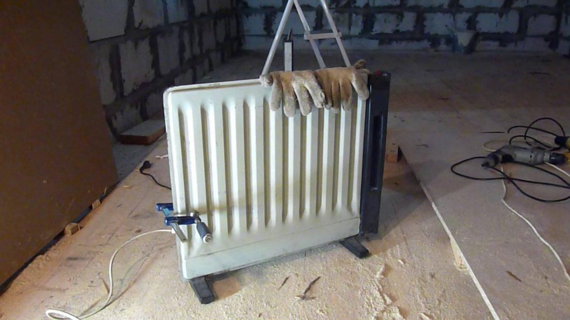 Газовый обогреватель своими руками для гаража - идеи и пошаговое выполнение