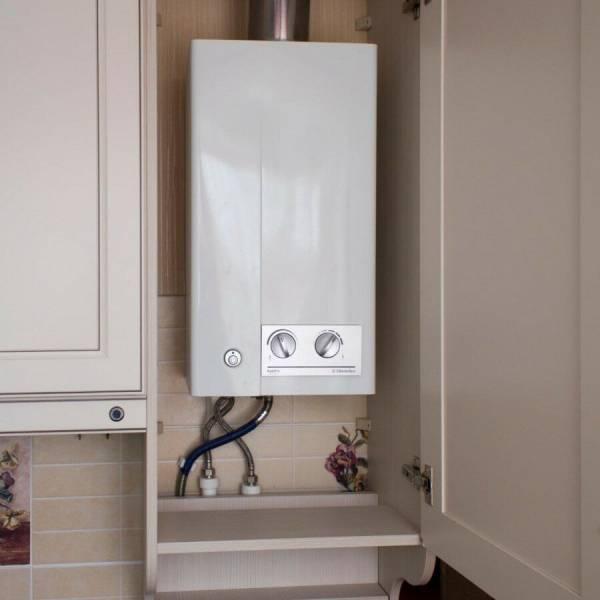 Как спрятать газовую колонку на кухне – рассмотрим всевозможные варианты