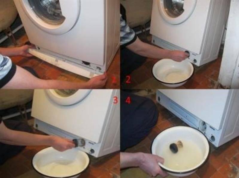 Правила и особенности чистки сливного фильтра стиральной машины: пошаговое руководство, обзор лучших средств