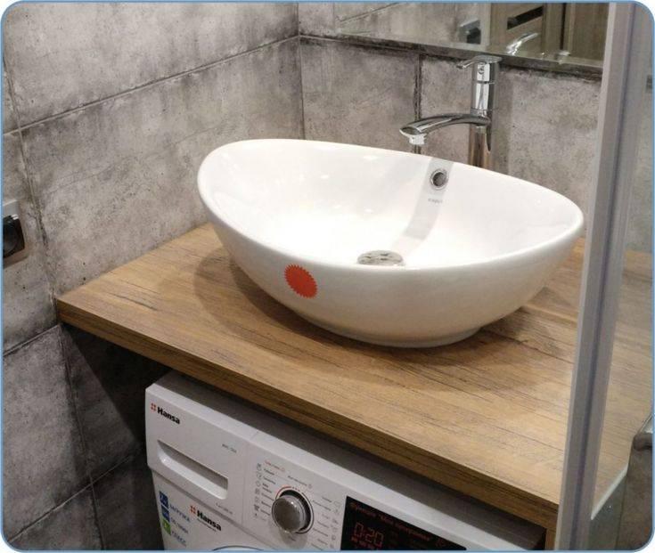 Раковина для ванны накладная на столешницу — стиль и практичность