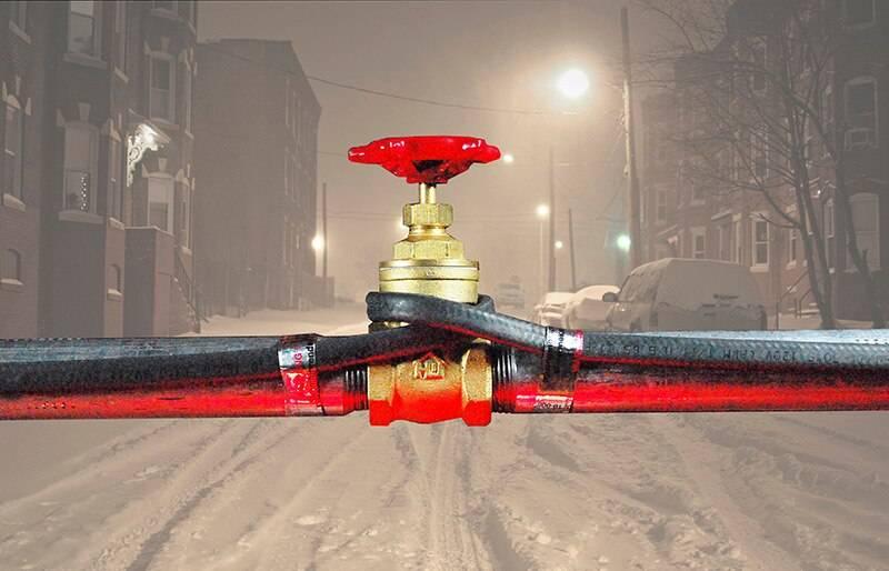 Как обогреть водопроводную трубу зимой самостоятельно