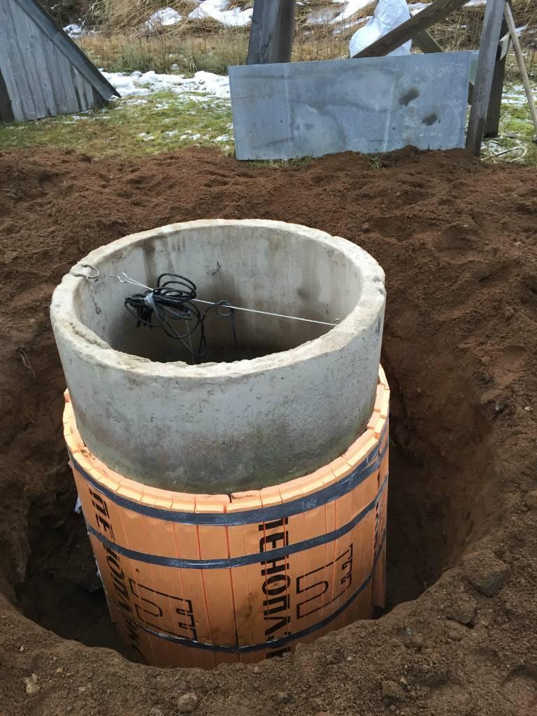 Как утеплить скважину, канализационную трубу и колодец своими руками