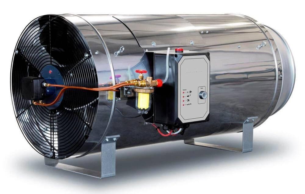 Теплогенераторы газовые для воздушного отопления газовое воздушное отопление на примерах фото и видео