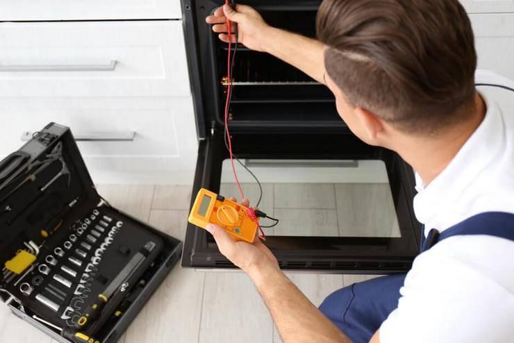 Не работает духовка в газовой плите: тухнет, не зажигается, не идет газ, не регулируется