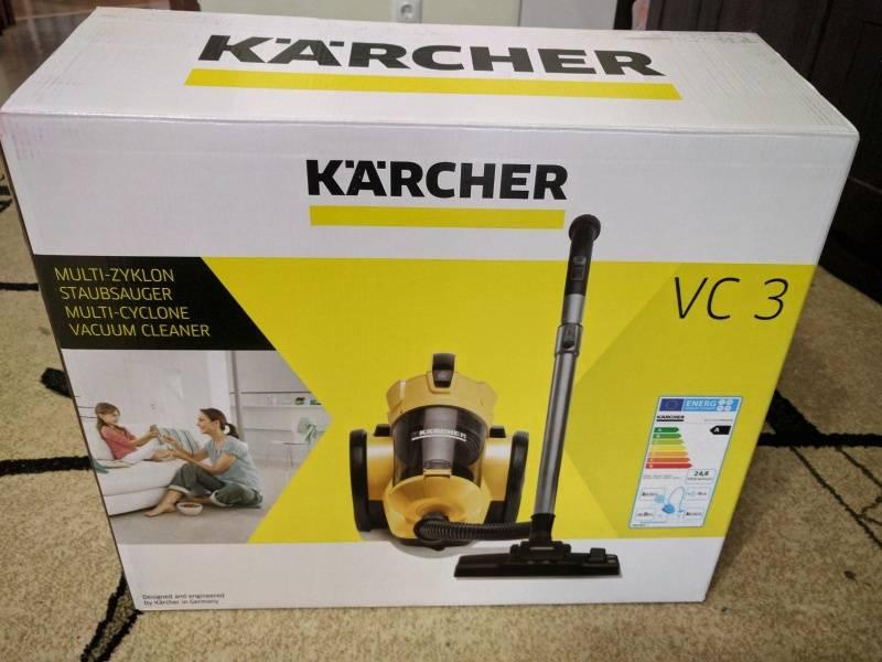 Пылесос karcher vc 3: обзор параметров и функций + сравнение с основными конкурентами