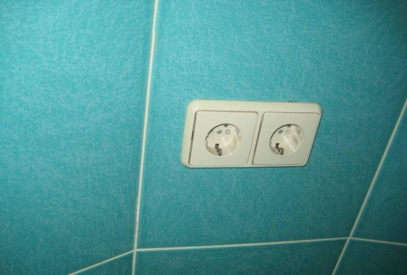 Розетка для стиральной машины: установка розетки в ванной комнате