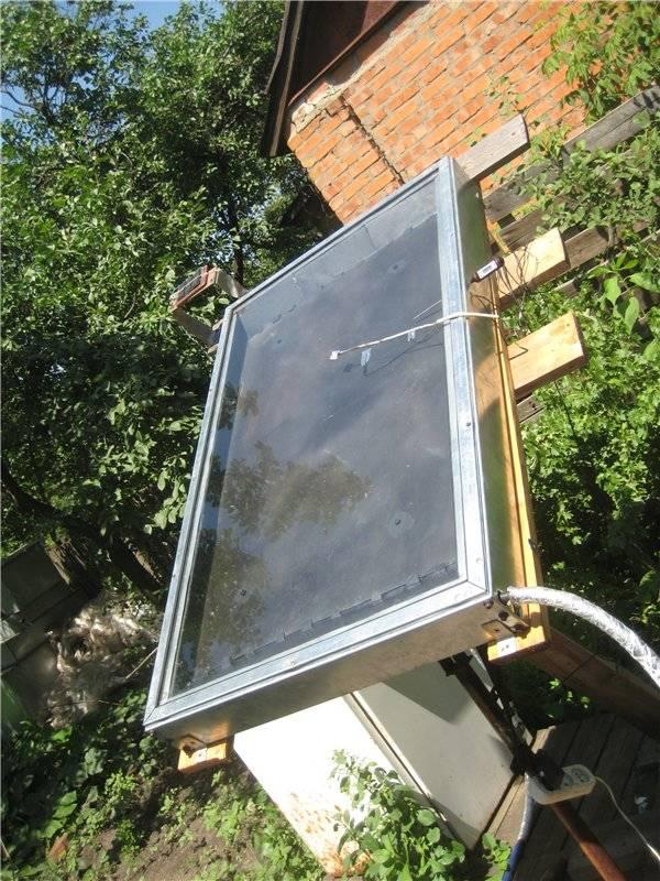 Солнечный коллектор своими руками: как собрать и изготовить, инструкция с картинками