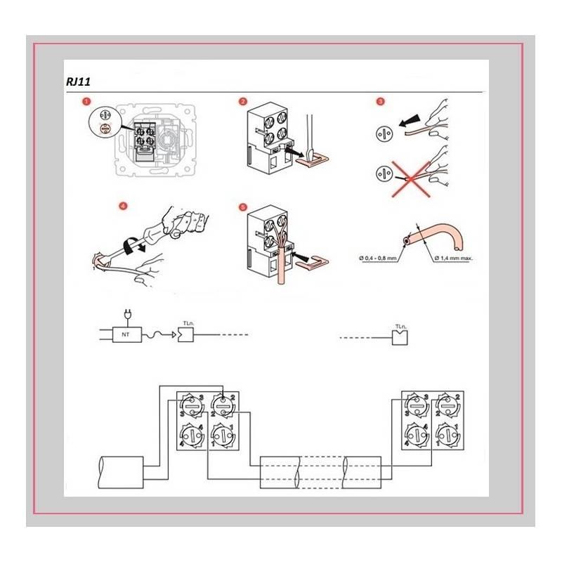 Как установить и подключить телефонную розетку » сайт для электриков - советы, примеры, схемы