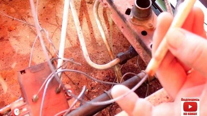 Постоянно щелкает электроподжиг газовой плиты
