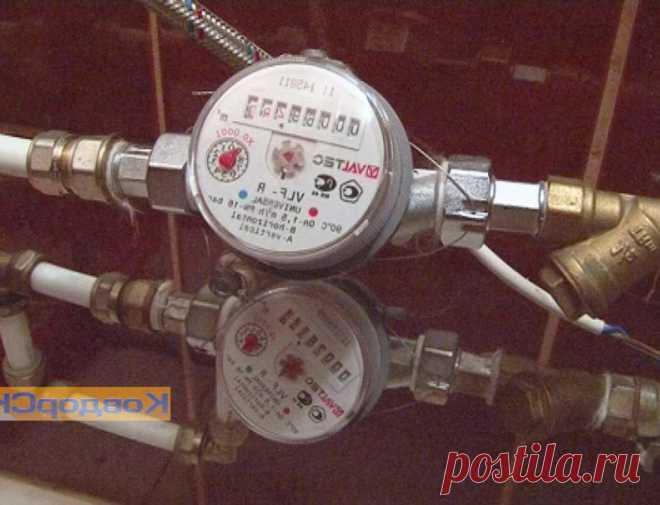 Установка счетчиков воды в частном доме - правила и особенности установки