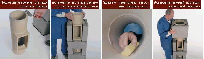 Керамический дымоход. плюсы и минусы. монтаж своими руками