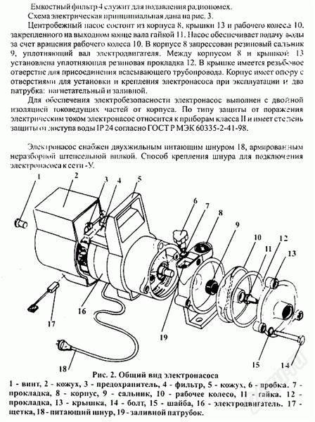 Насосы агидель 10: характеристики – инструкция